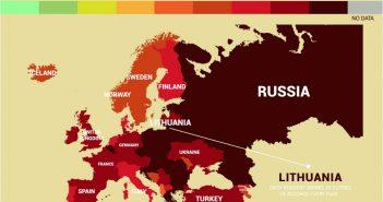 Cele mai nesănătoase țări din lume